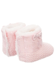 Mayoral Pink Fur Eskimo-Boots - Front full body