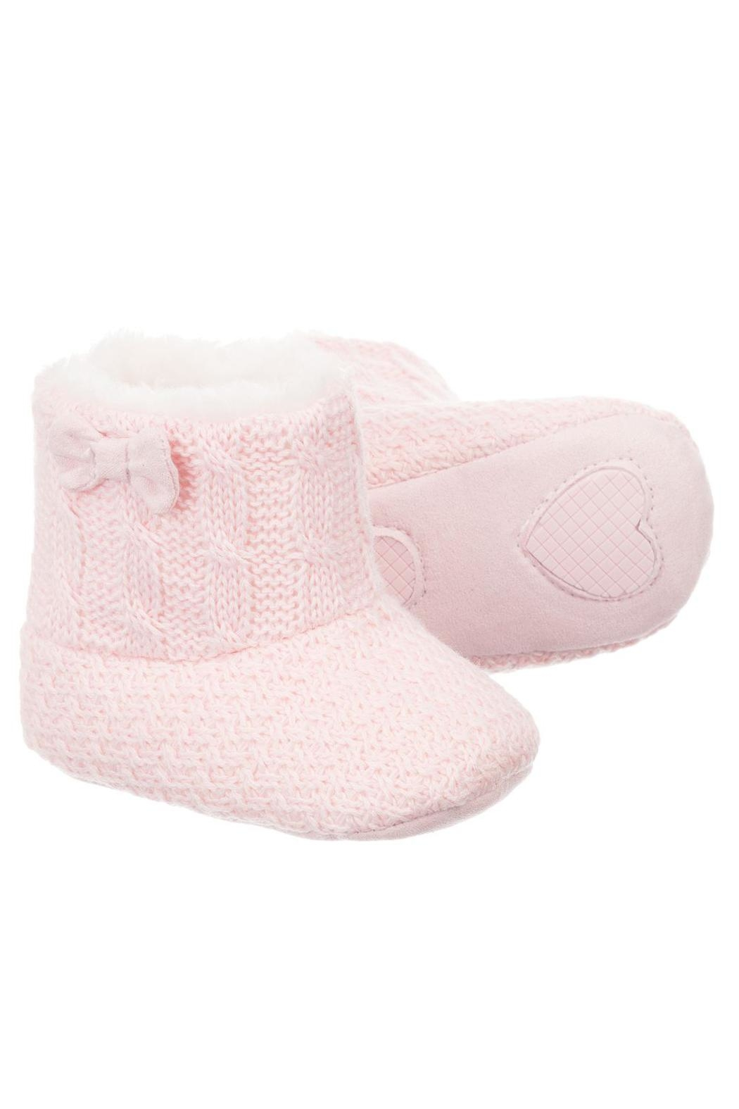 Mayoral Pink Fur Eskimo-Boots - Front Cropped Image