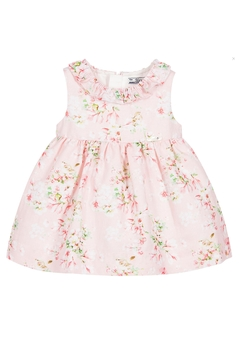 Shoptiques Product: Pink Linen Floral-Dress