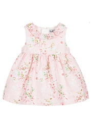 Mayoral Pink Linen Floral-Dress - Product Mini Image