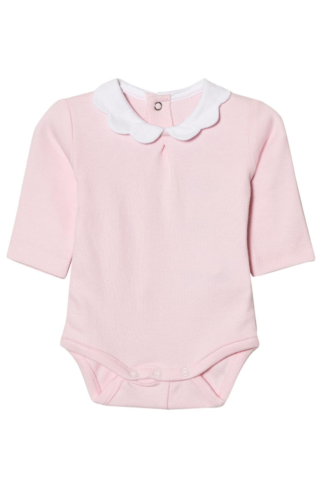 Mayoral Pink Scallop Collar Onesie - Main Image
