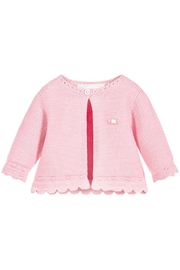 Mayoral Pink Sweater Cardigan - Product Mini Image