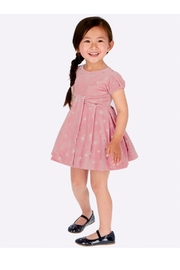 Mayoral Pink Velvet Dress - Product Mini Image