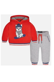 Mayoral Pug Tracksuit - Front cropped