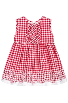 Shoptiques Product: Red Gingham Dress