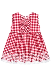 Mayoral Red Gingham Dress - Product Mini Image