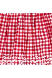 Mayoral Red Gingham Dress - Side cropped