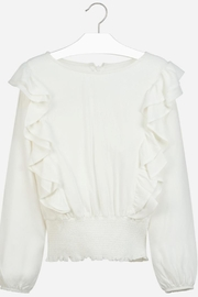 Mayoral Ruffle Blouse - Front cropped