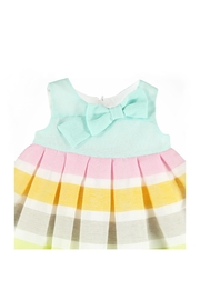 Mayoral Sherbert Striped Dress - Front full body