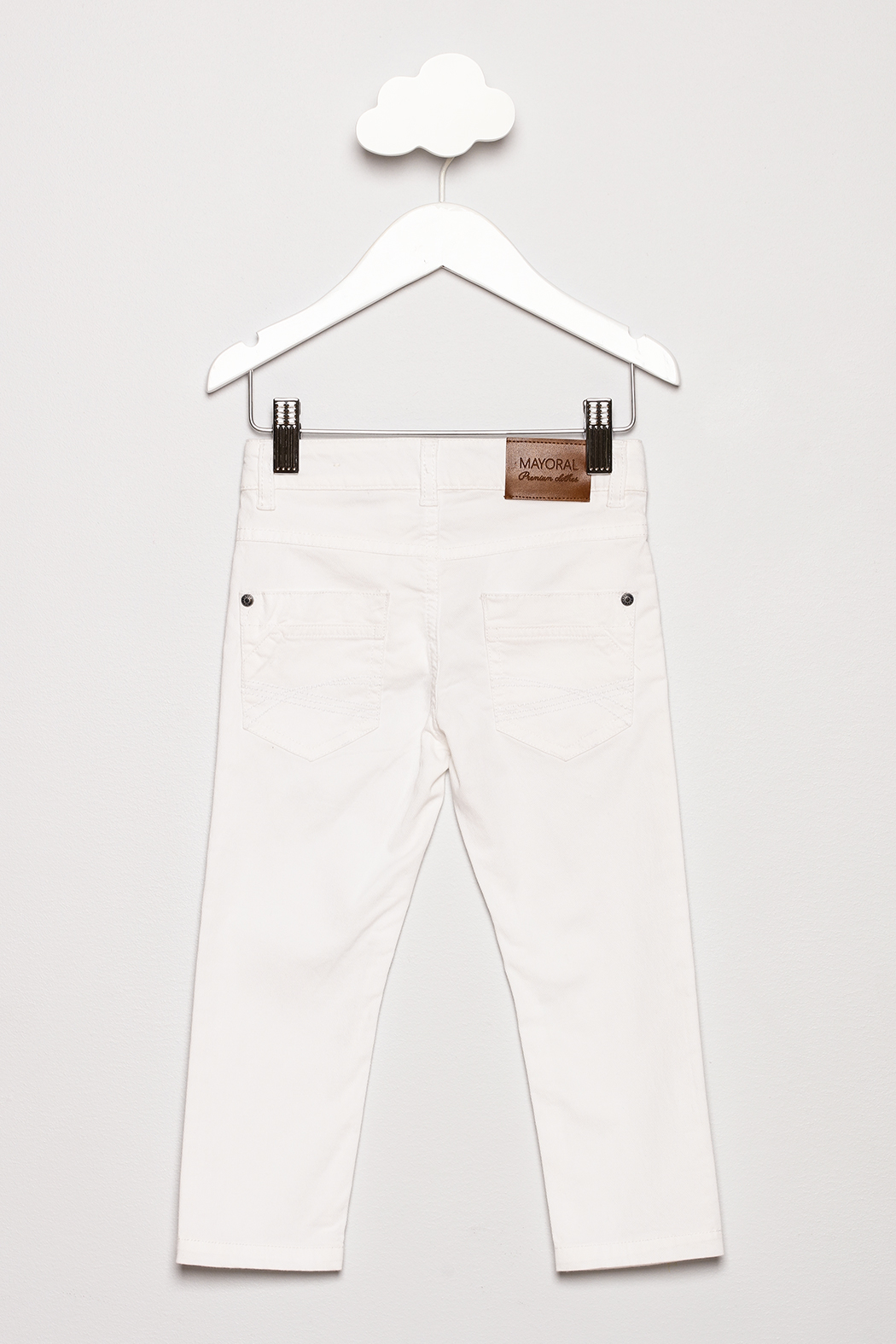 Mayoral Slim Fit Pants - Back Cropped Image