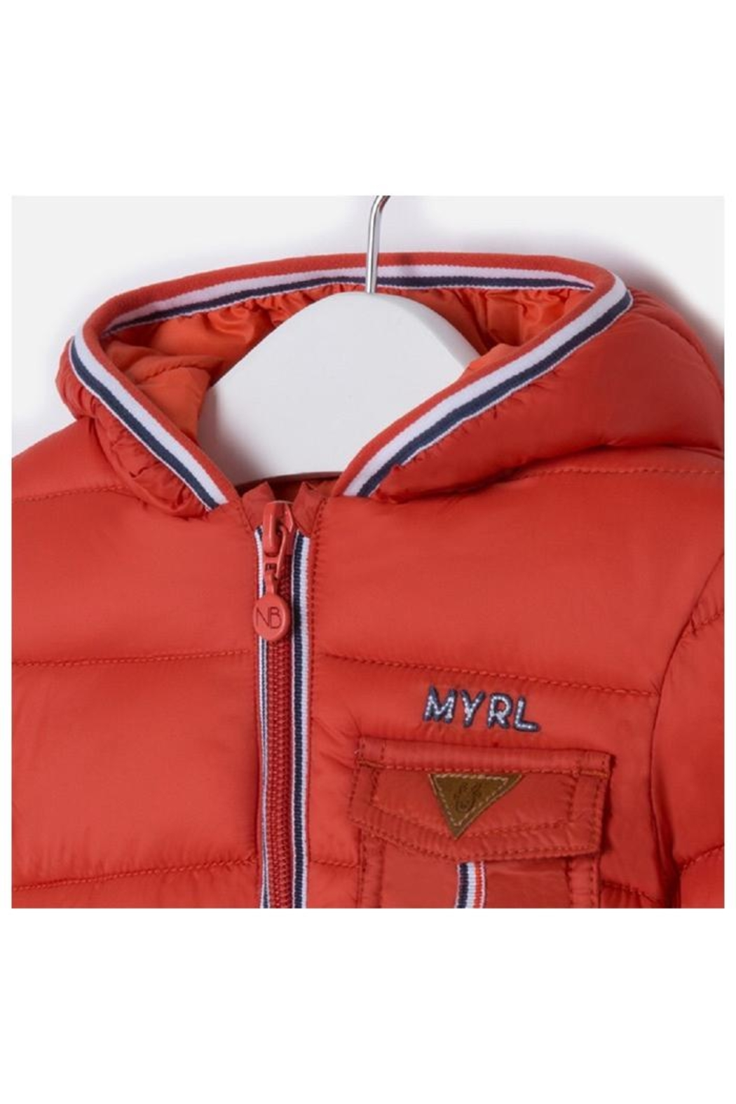 Mayoral Sporty Puffer Coat - Side Cropped Image