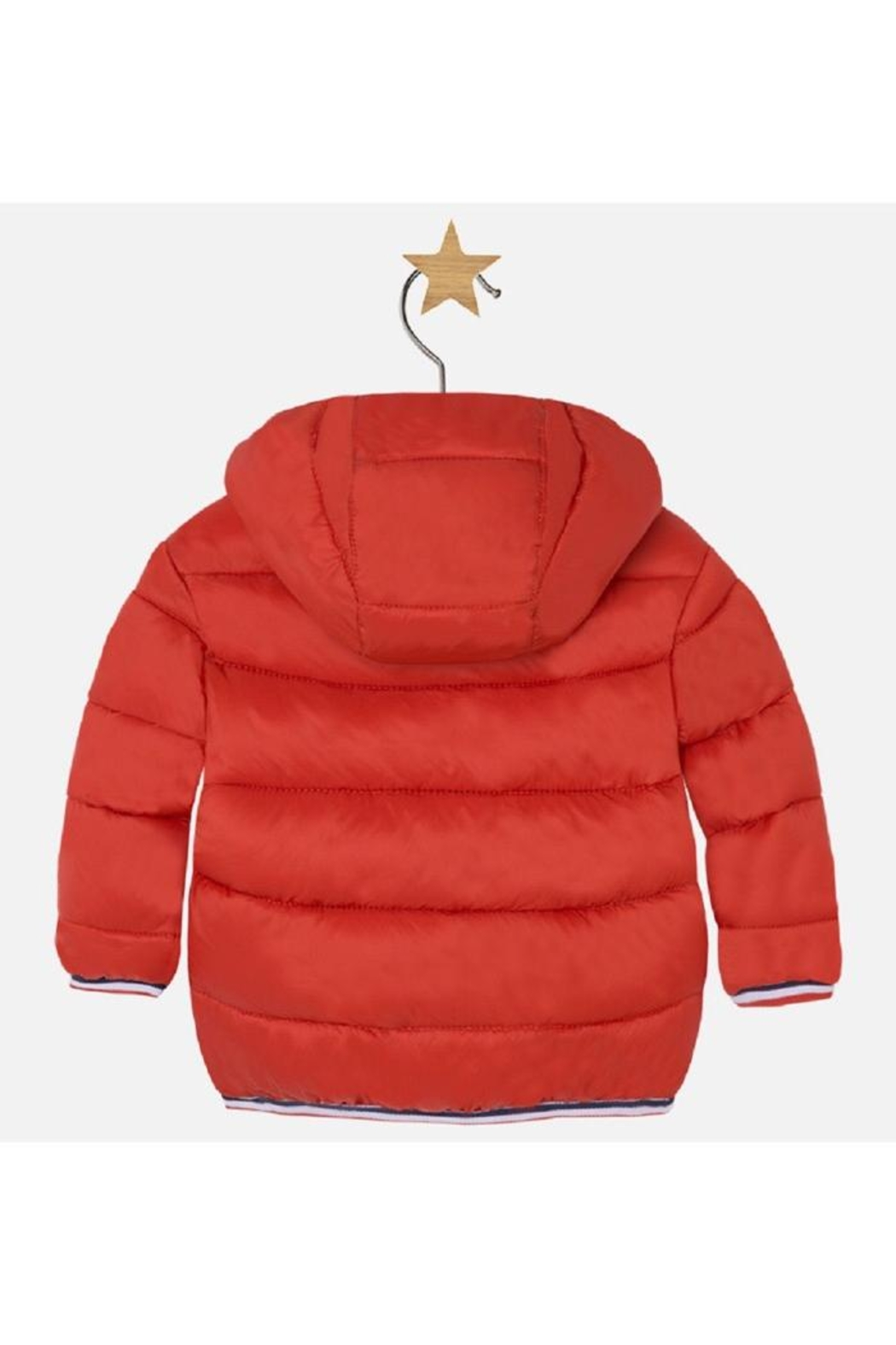 Mayoral Sporty Puffer Coat - Front Full Image