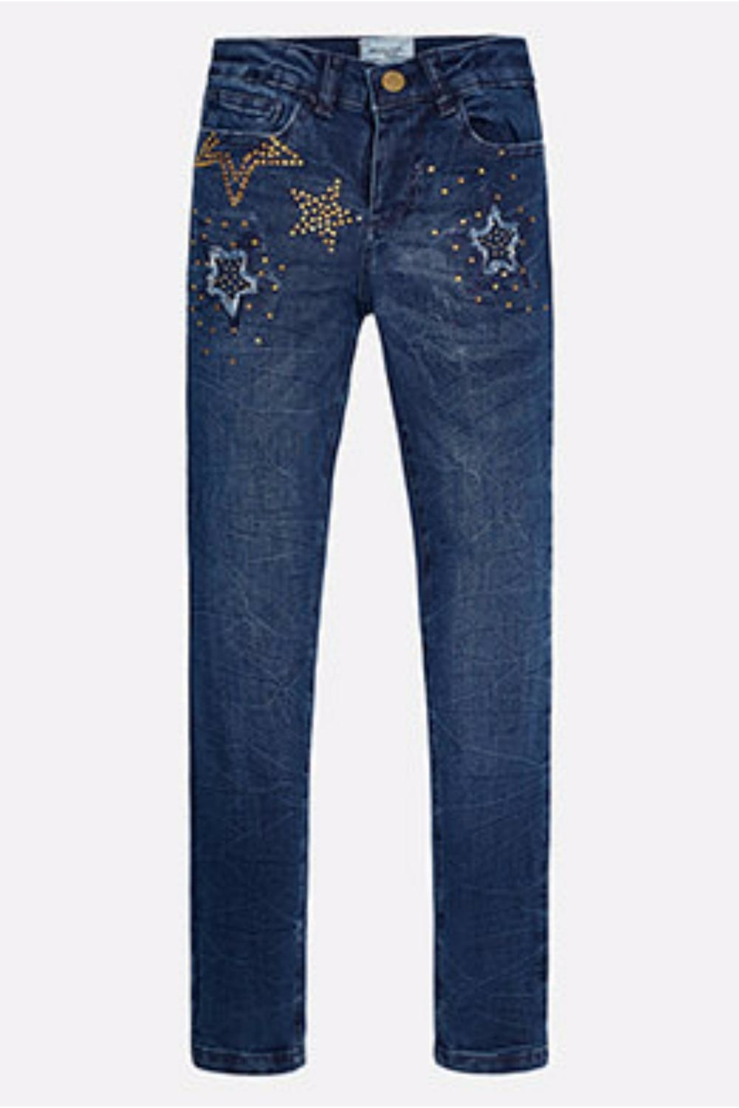 Mayoral Star Denim Jeans - Main Image