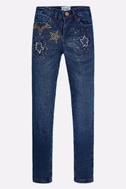 Mayoral Star Denim Jeans - Front cropped