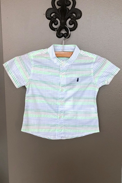 Shoptiques Product: Stripe Poplin Shirt