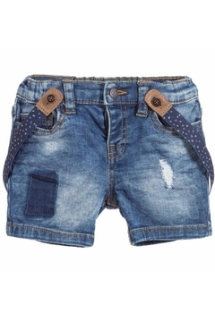 Shoptiques Product: Suspender Denim Short