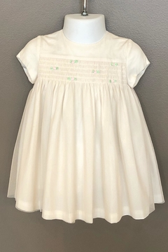 Mayoral Tulle Smocked Dress - Product List Image