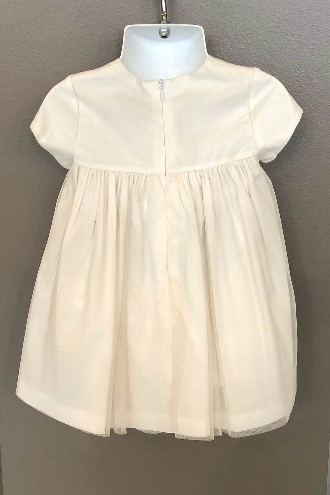 Mayoral Tulle Smocked Dress - Front Full Image