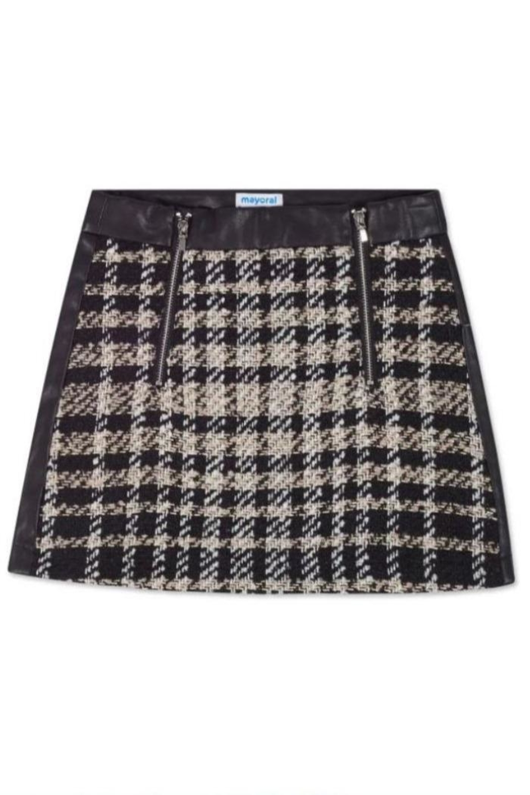 Mayoral Tweed Skirt - Front Cropped Image