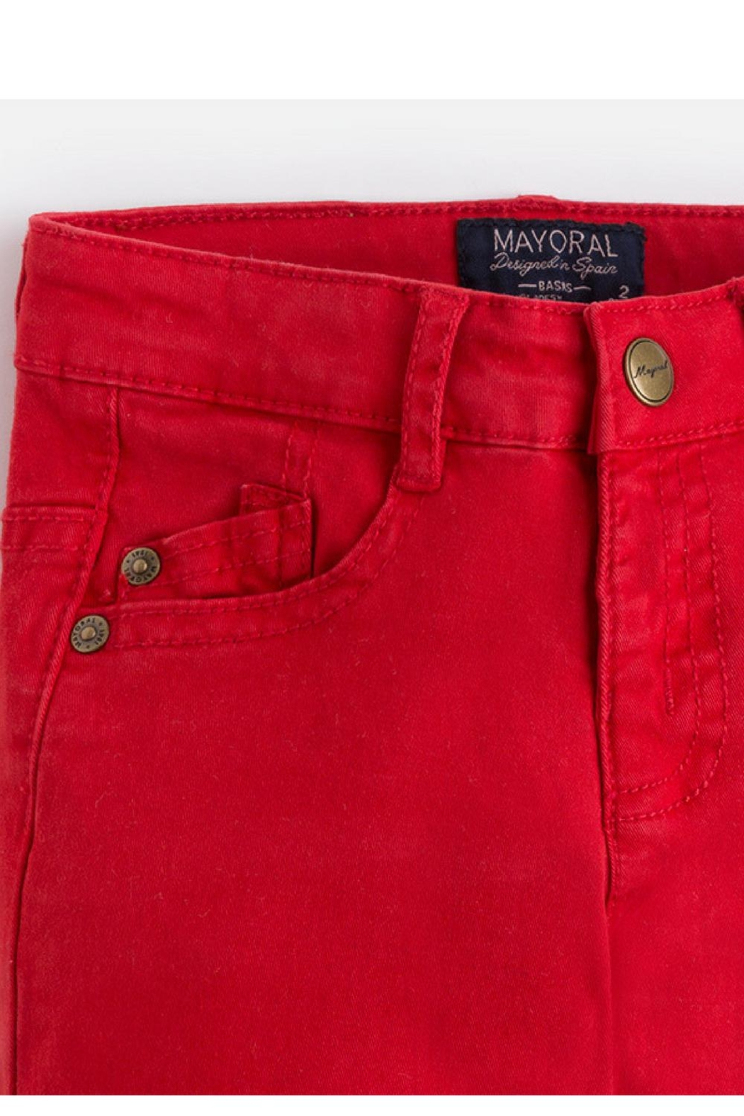 Mayoral Watermelon Chinos - Side Cropped Image