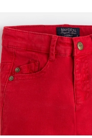Mayoral Watermelon Chinos - Side cropped