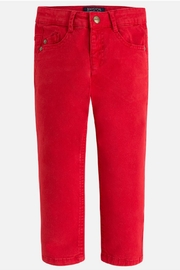 Mayoral Watermelon Chinos - Front cropped