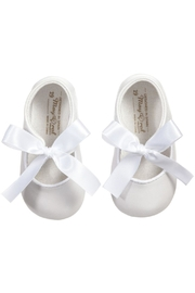Mayoral White Ribbon Pre-Walker-Shoes - Product Mini Image