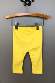 Mayoral Yellow Knit Legging - Front full body