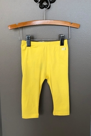 Mayoral Yellow Knit Legging - Front cropped