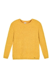 Mayoral Yellow Knitted Sweater - Product Mini Image