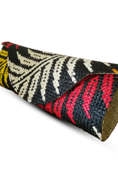 Banago Mayumi Clutch - Cuba Leaves - Alternate List Image