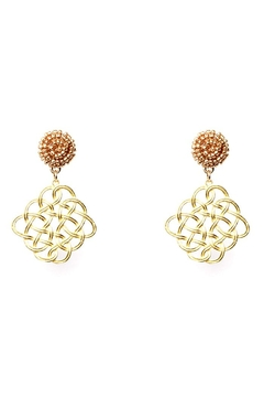 Fornash Maze Earrings - Alternate List Image