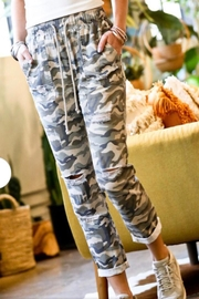 Mazik Camo Distressed Pants - Product Mini Image
