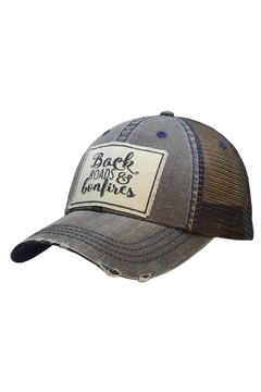 Shoptiques Product: Back Roads & Bonfires Hat