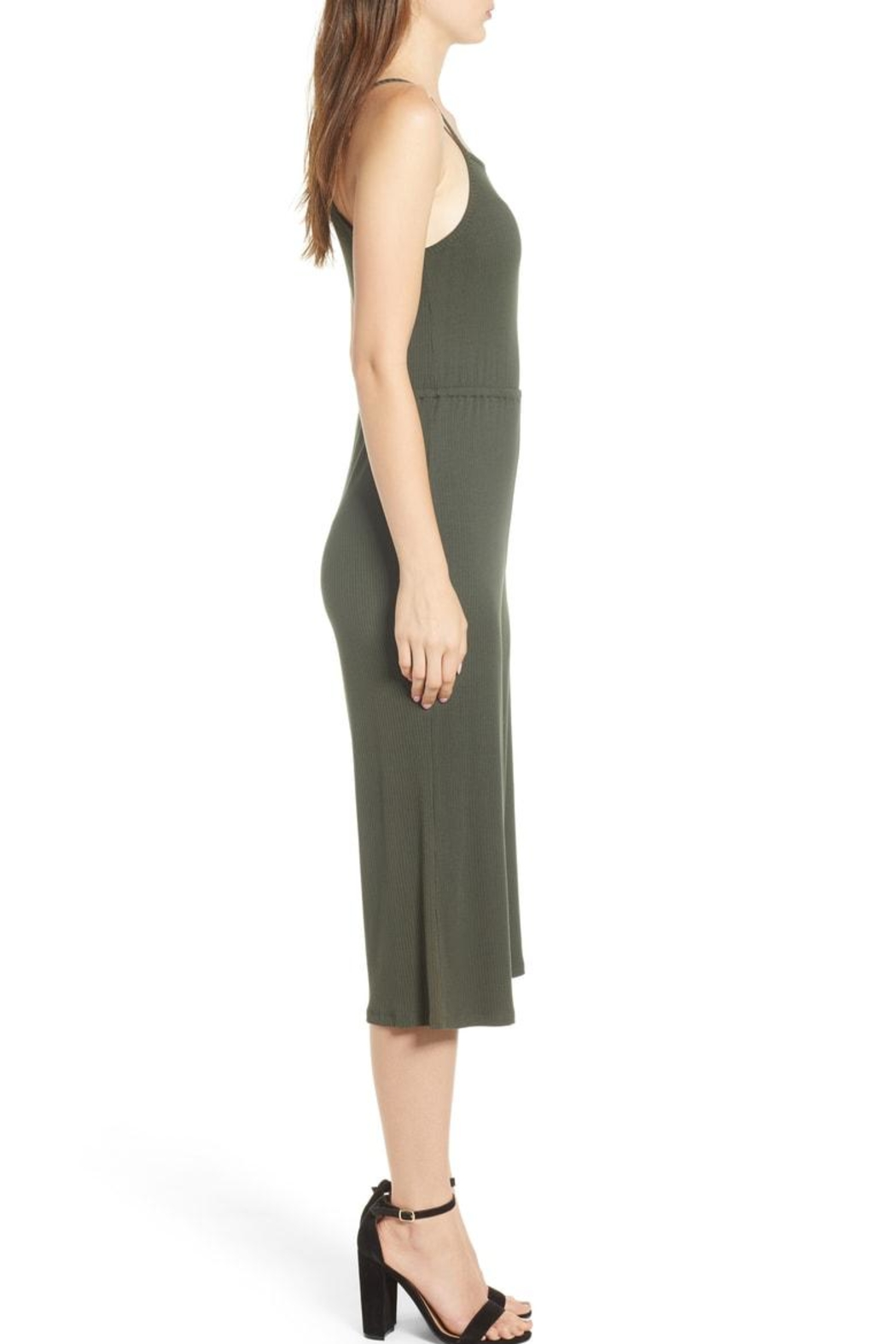 Cupcakes and Cashmere Mccall Culotte Jumpsuit - Side Cropped Image