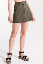 White Crow Mccready Denim Skirt - Product Mini Image