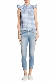 McGuire Cropped Ruffled Top - Product Mini Image