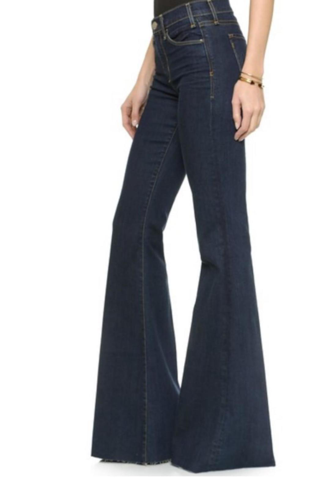 MCGUIRE DENIM Denim Flare Jeans - Side Cropped Image