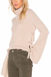 McGuire Pink Tie Sweater - Product Mini Image