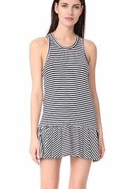 McGuire Stripe Mini Dress - Front cropped