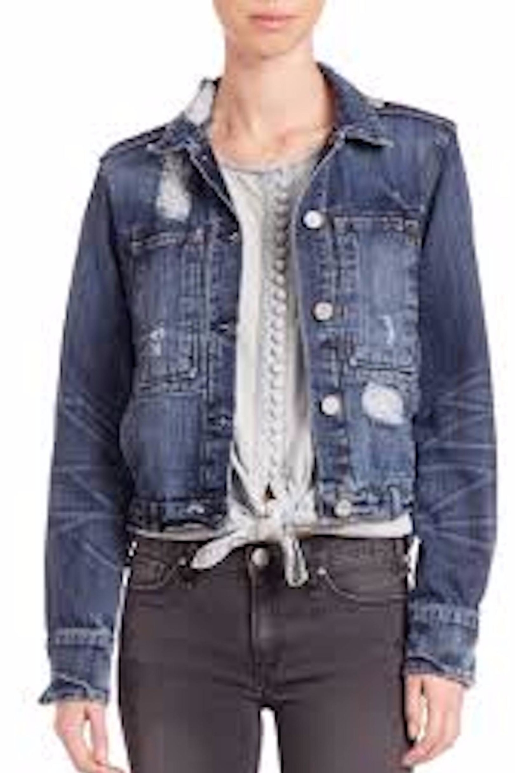 MCGUIRE DENIM Distressed Jean Jacket - Main Image