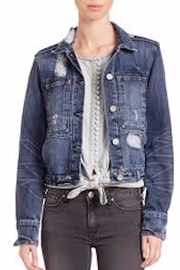 MCGUIRE DENIM Distressed Jean Jacket - Product Mini Image