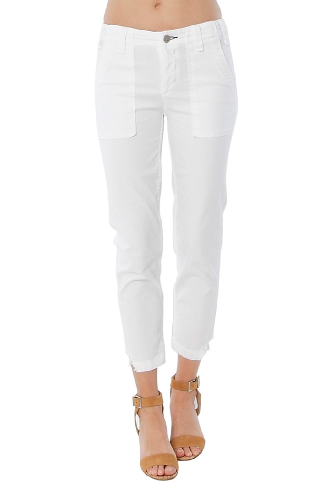 MCGUIRE DENIM White Utility Trouser - Main Image