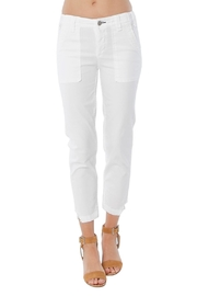 MCGUIRE DENIM White Utility Trouser - Front cropped