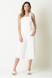 Lucca Mckenna White Jumpsuit - Product Mini Image