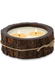 Himalayan Trading Post MD Tree Bark Candle- MOUNTAIN FOREST - Product Mini Image