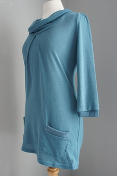 Me & You Cowlneck Pleated Sweater - Product List Image