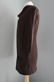 Me & You Cowlneck Pleated Sweater - Front full body