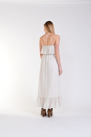 Fox In Gown Meadow Floral Dress - Front full body