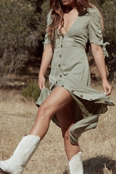 SAGE THE LABEL Meadow Midi Dress - Product List Image